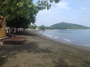 The beach at Pemuteran